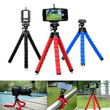 Universal Stand Tripod Mount Holder For iPhone Samsung Cell Phone Camera 0050ZR
