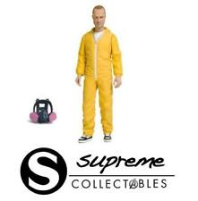 "Breaking Bad Jesse Pinkman 6"" Action Figure Mezco Toyz Yellow Hazmat Suit New"
