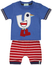 Boys, Lilly & Sid: Seagull Ted Shorts Set Size 3-6 & 6-12 Months