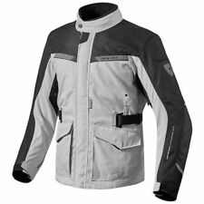 REV'IT ENTERPRISE PLATA-NEGRO CHAQUETA MOTO