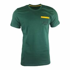 Asics South Africa Springboks Casual Rugby Tee 2017 - Bottle Green