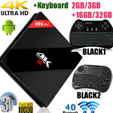 H96 pro+ Octa Core Android 6.0 2G/3G+16G/32 Dual WIFI 4K OTG BT TV BOX +Tastiera
