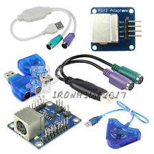 Dual PSX/PS1/PS2 Female to USB Male Adapter Converter Keypad Driver for Arduino