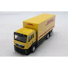 RMZ City 1:64 DIECAST MAN DHL Container Truck Yellow Model COLLECTION New Gift