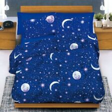 TRAPUNTA INVERNALE 300 GR COTONE SINGOLO LUNA STELLE MADE IN ITALY