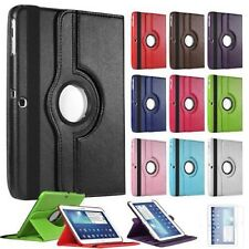 360 Rotation Tabs Cover Case For GalaxyT580/560/T550 Flip PU Leather Case