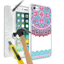 Multi Design Mandala Phone Case Cover with Glass for Various Mobile Phone - 025