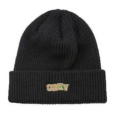 Berretto Obey Ripped Beanie Black