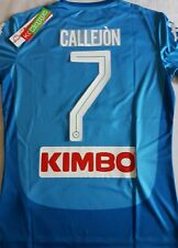 Maglia SSc NAPOLI Kappa 2017/18 Kombat Extra Serie A Home New maillot Callejon 7