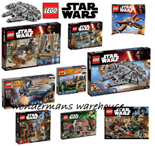 Lego Star Wars Collectible sets- Millenium Falcon/AT-ST Walker & MORE  Brand New