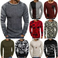 ozonee madmext 2035 Pullover tricoté pour homme pull pull pull sweat mélange