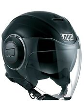 Casco Jet Agv Fluid Mono Matt Black