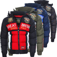 Geographical Norway caldo foderato giacca invernale uomo giacca S-XXL