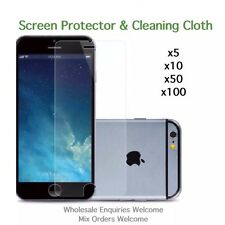 iPhone 8 Plus screen protectors and cleaning cloth wholesale job lot