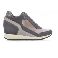 BOTA GEOX NYDAME GRIS PIEL MUJER