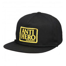 Cappellino Anti Hero Adjustable Reserve Patch Unstructured Snapback Black