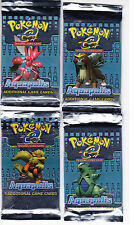 Pokemon Aquapolis Sealed Booster Pack x1 English *Free Shipping* Select your Art