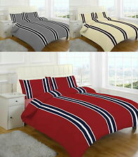 Brody Stripes Brushed Cotton Flannelette Thermal Sheet Set