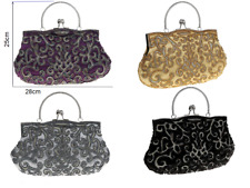 Beautiful Luxury Beaded Handmade Patterned Handbag Evening bag clutch bag