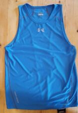Under Armour Men's Heatgear Draft 3 Running vest Blue 1207995 485