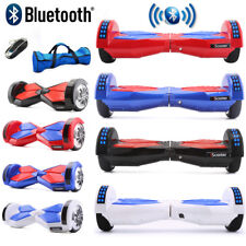 "6.5"" Hoverboard Gyropode Self Balancing Scooter électrique Consei+Bluetooth +LED"