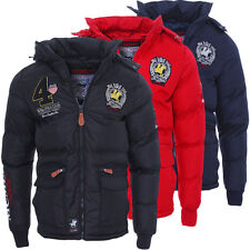 Geographical Norway caldo foderato uomo CINCIN Giacca invernale Giacca S-XXL
