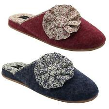 New Womens Luxury Slippers Soft Warm Comfy Snuggle Ladies Slip on Slippers Mules