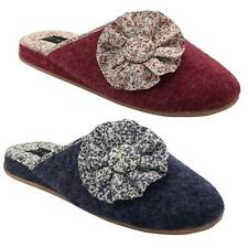 Ladies Luxury Slippers Soft Warm Comfy Snuggle Womens Slip on Mules Slippers