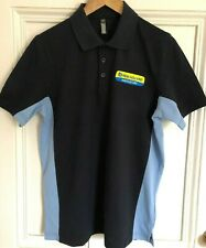 Fendt Tractor Embroidered Contrast Polo Shirt S to 2XL
