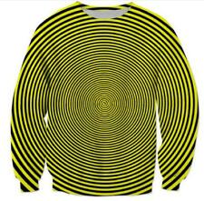 New Womens/Mens Hypnosis Funny 3D Print Casual Sweatshirt Hoodies Pullover Tops