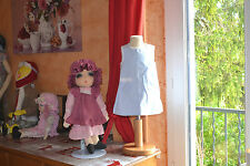 robe tartine et chocolat 12 mois adorable petits noeuds poches broderie