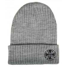 Berretto Independent Beanie Cross Ribbed Heather Grey