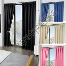 ECO - Cali - 2 cortinas térmicas y opaca - Material supersuave - Color liso