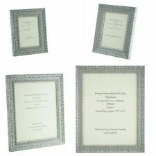 Handmade Ornate Silver Shabby Chic Vintage Picture Frame 7 x 5 - 16 x 12 Photos.
