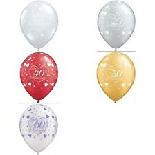 QUALATEX ANNIVERSARIO Latex Elio qualità PALLONCINI ASSORTITI Design & quantità