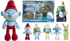 SMURFS 3 The Lost Village Toys Plush Talking Smurfette Jumbo Papa Smurf Bucky
