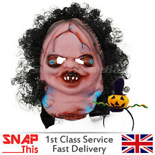Zombie Mask Cosplay Latex Face Horror Adult Halloween Party Female Walking Dead
