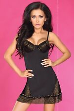 LIVCO CORSETTI Sarena Luxury Underwired Padded Chemise and Matching G-String Set