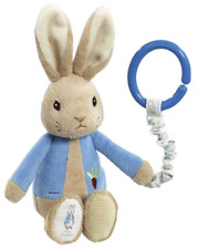 Peter Rabbit or Flopsy Bunny Attachable Soft Toy Beatrix Potter - FAST DISPATCH!