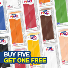 FIMO SOFT 350G POLYMER MODELLING OVEN BAKE CLAY - CLASSIC GREAT VALUE BIG BLOCKS