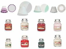 Yankee Candle Set Small  Shade & Tray Set & Small Candle Various Design & Scent