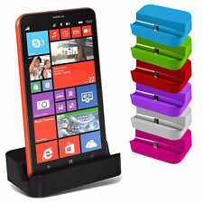 For Microsoft Lumia 650 Dual SIM - Micro USB Desktop Charger Docking Station