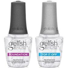 Harmony Gelish Foundation Base Coat - or Gelish Top it off 15ml *SALE*