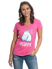 Minions It´s So Fluffy Bubbles Damen T-Shirt Pink