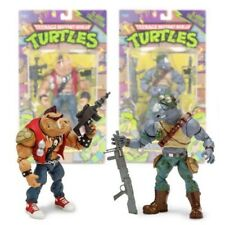 NOUVEAU Teenage Mutant Ninja Turtles Bebop ou Rocksteady FIGURINES TORTUES