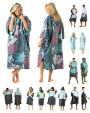 Vivida Poncho Towel / Hooded Changing Robe (Blue) Surf Beach Kitesurf- CLEARANCE