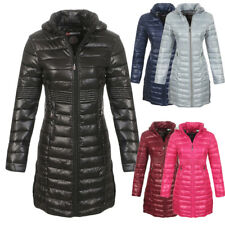 Geographical Norway Donna Inverno Giacca Trapuntata a vento Mantella LUNGO
