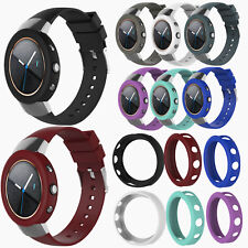 Sport Silicone Watch Band Strap +Protector Shell Case Cover For ASUS ZENWATCH 3