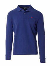 BEVERLY HILLS POLO CLUB T-SHIRT MANICA LUNGA UOMO POLO PIQUET BHPC3260