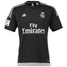 REAL H GK JSY BLK - Maillot Gardien Football Real Madrid Homme  Adidas